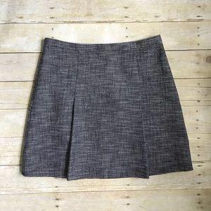 J.Crew Navy Tweed Skirt Size 12